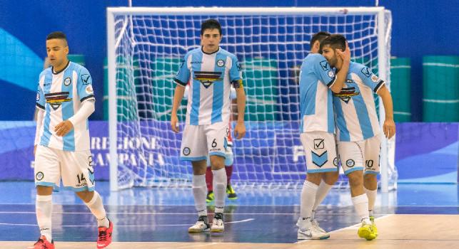 Futsal Fuorigrotta, quarta vittoria di fila e secondo posto consolidato: 7-2 alla Mirafin