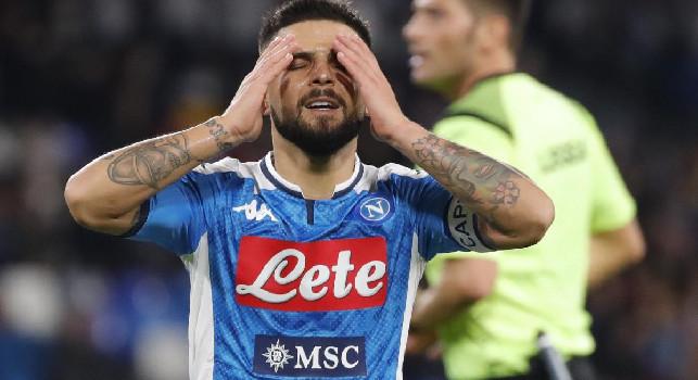 Insigne a caccia del rilancio, Il Mattino: Ancelotti lo riscopre seconda punta, a Udine per uscire dalla bufera