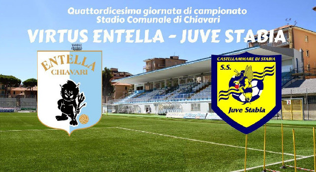 Virtus Entella-Juve Stabia, una sconfitta che brucia