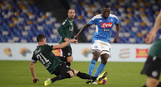 CorSport - Koulibaly in dubbio per l'Udinese, Ancelotti pensa alla coppia Manolas-Maksimovic