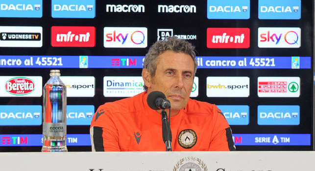 Gotti conferenza Udinese-Napoli