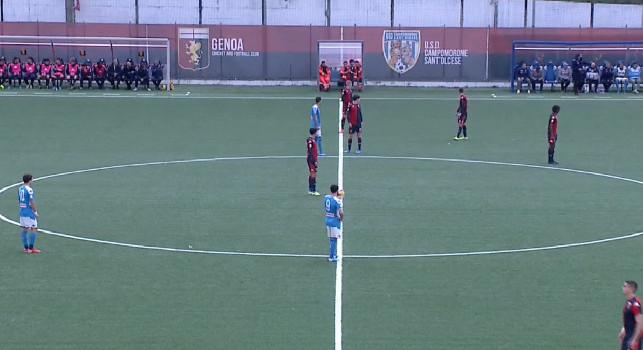 Primavera, Genoa-Napoli 0-3 (30' Palmieri, 49' Labriola, 59 Sgarbi): termina la partita! Tre punti d'oro, successo corsaro degli azzurri