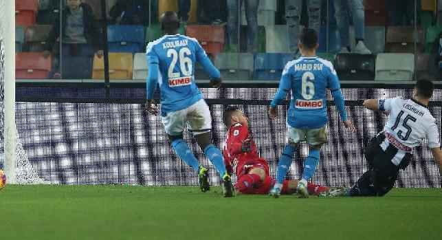 Pagelle Udinese-Napoli: Mertens fastidioso, Callejon avvilente! Lozano fa tenerezza, Di Lorenzo si propone