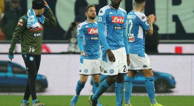 Faccia a faccia Mertens-Ancelotti e la delusione degli azzurri, gli scatti di Udinese-Napoli 1-1 [FOTOGALLERY CN24]