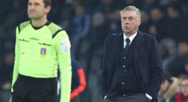 Ancelotti a Sky: Insigne si sente molto responsabile, subito un gol ridicolo! Non ho sentito Gattuso. Credo nella fiducia del presidente, non ho mai pensato alle dimissioni