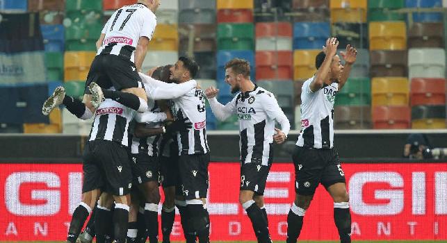 Udinese, Stryger Larsen: Napoli squadra di grandissima qualità, abbiamo giocato col cuore!