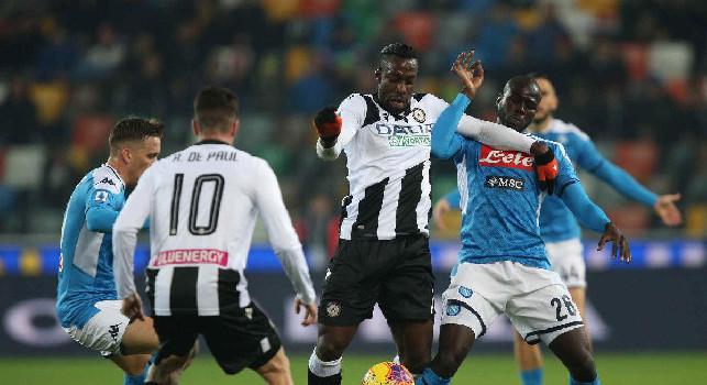 Udinese, Okaka: Rigore su Lasagna? Secondo me c'era, ho chiesto all'arbitro di andarlo a rivedere