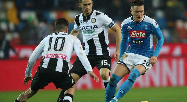 Lasagna, l'agente: Ne ho parlato sabato con Giuntoli: se il Napoli lo vuole va dall'Udinese e lo prende