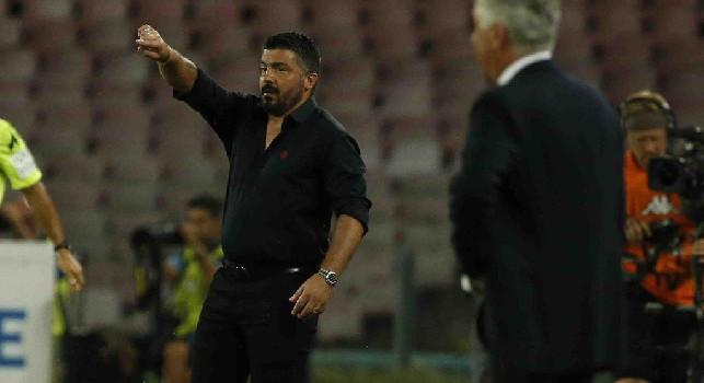 Gattuso-Napoli, SportItalia conferma: mercoledì novità, Fiorentina defilata! Impossibile continuare con Ancelotti
