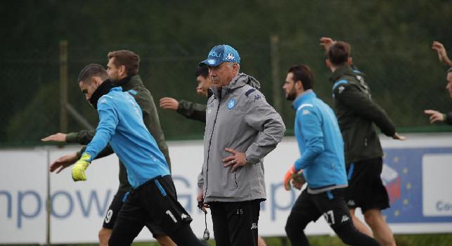 Ancelotti-Napoli, undici azzurri amareggiati per l'epilogo della vicenda: il retroscena
