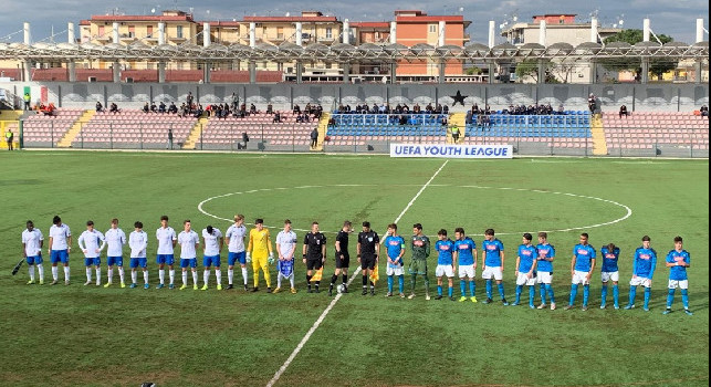 Youth League, Napoli-Genk 0-0: termina la partita! Pareggio che dà morale