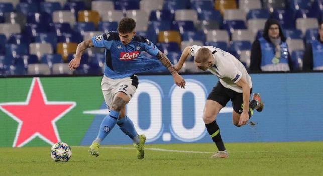 Adani celebra Di Lorenzo: Giocatore completo, duttile e bravo in entrambe le fasi: deve andare agli Europei!