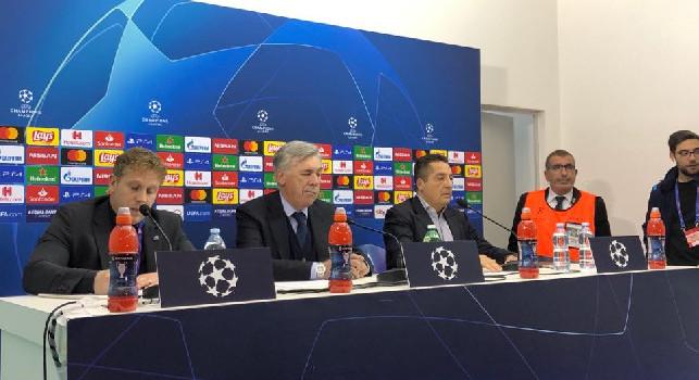 Ancelotti in conferenza: Domani vedrò De Laurentiis, valuteremo le cose e prenderemo la giusta decisione per il Napoli. Salutati i tifosi? Ho salutato mia moglie [VIDEO CN24]