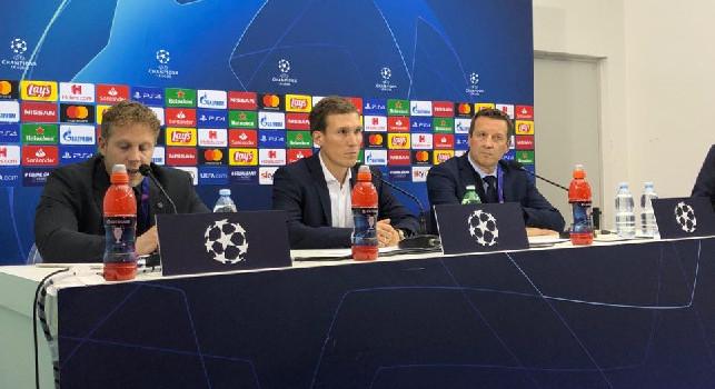 Genk, Wolf in conferenza: Il Napoli era troppo forte per noi: hanno sfruttato gli spazi, si sentiva la differenza nella fame da gol. Errore iniziale? Capita... [VIDEO CN24]