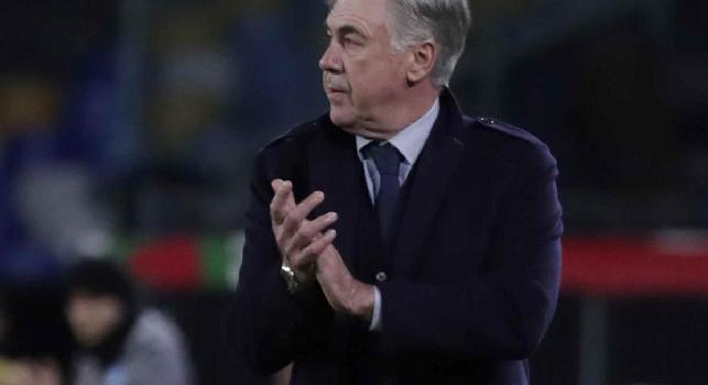 Carlo Ancelotti, allenatore del Napoli