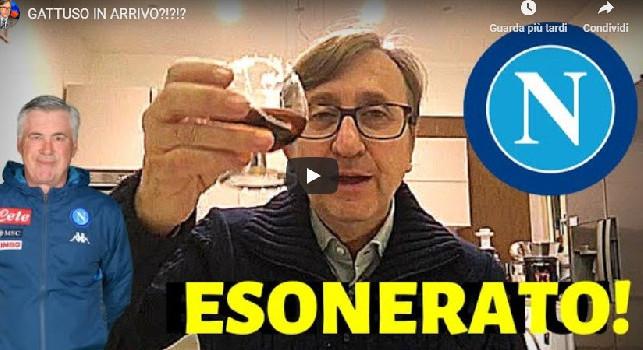 Auriemma brinda all'esonero di Ancelotti: Nessun gesto di classe, ADL ha saputo dell'Arsenal [VIDEO]