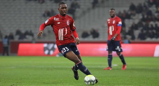 Boubakary Soumaré è un calciatore francese di origini senegalesi, centrocampista del Lille