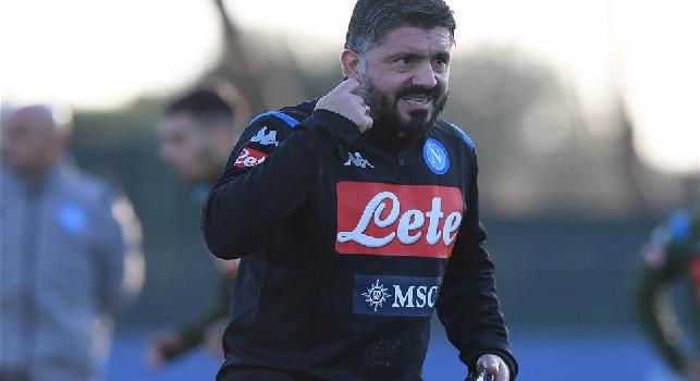 Gattuso-Napoli, Repubblica: in tre giorni allenamenti più duri, avversari al video e sei ore per provare 4-3-3