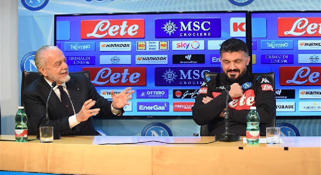 CorSport - De Laurentiis-Gattuso, accordo raggiunto fino al 2023: riconfermato anche lo staff tecnico. Nel prossimo weekend incontro tra patron ed allenatore per gli ultimi dettagli