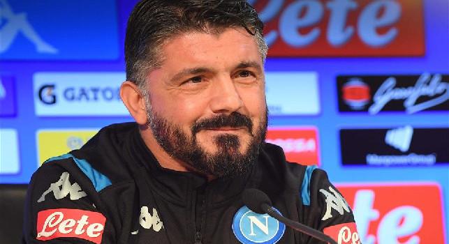 Napoli-Torino, venerdì alle 13 la conferenza stampa di Gennaro Gattuso