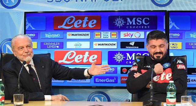 Gattuso-Napoli, TuttoSport: ADL <i>sposa</i> Ringhio, maxi rinnovo! Ecco quando arriverà la firma