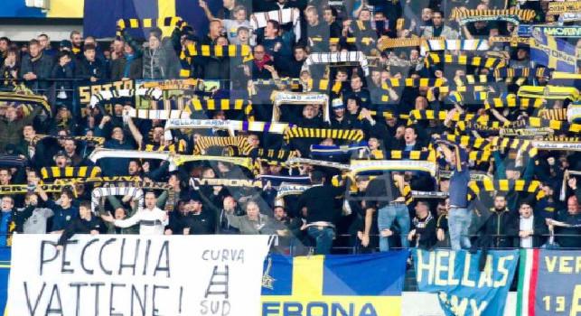 Hellas Verona, ennesima vergogna: i tifosi cantano Niente negri in un bar! [VIDEO]