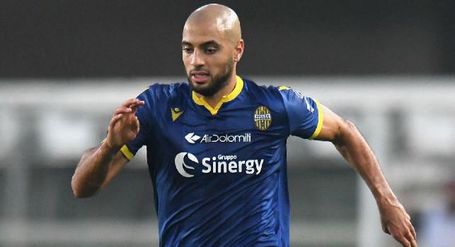Sofyan Amrabat, centrocampista del Verona