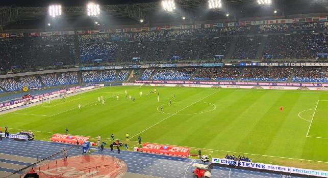 Napoli-Parma, gelo al San Paolo: spettatori e incasso