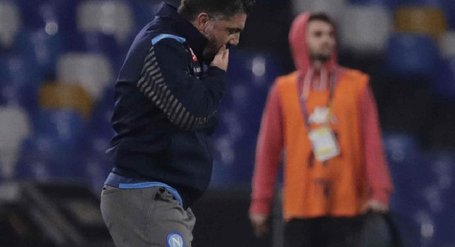 Napoli-Parma, CorSport: è un bene per Gattuso aver capito subito che ha tutto contro. I festeggiamenti per l'esonero di Ancelotti sono finiti