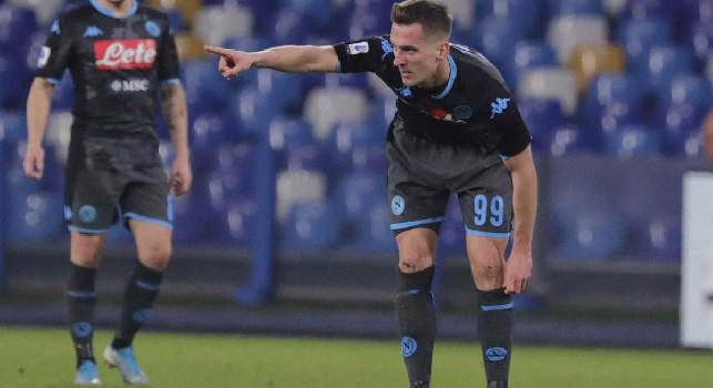 Gazzetta salva solo Milik: ancora una volta bersaglio preferito il Parma, pure un bell'assist per Insigne