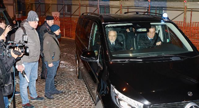 De Laurentiis: Gattuso mi ha subito impressionato, è l'unico che può traghettarci verso una grande bellezza! Il peggio è passato, viva Napoli