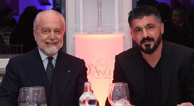 Cronache di Napoli: Gattuso non si è opposto alle cessioni di tre azzurri, avrà una richiesta da fare a De Laurentiis