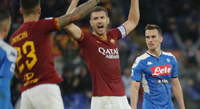 Il Messaggero - Dzeko, al Napoli ha segnato già 4 volte: due le doppiette per il bosniaco