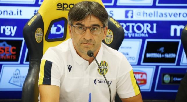 Verona-Napoli, Juric recupera il difensore Ceccherini: sarà tra i convocati