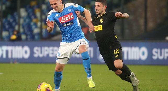 CorrSera - Emergenza Coronavirus, Napoli-Inter di Coppa Italia può slittare a maggio!