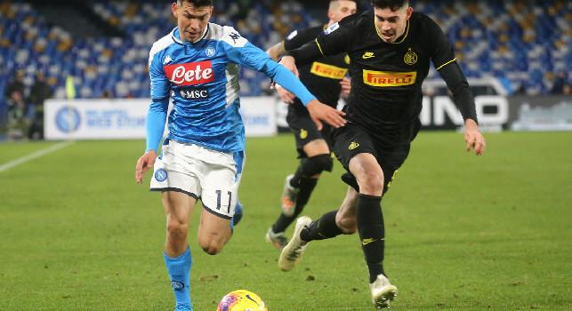 Il Mattino - Napoli-Roma confermato Insigne, Lozano sarà titolare col Genoa
