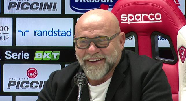 Napoli-Perugia, Cosmi schiera il 3-5-2: sei calciatori out, Mazzocchi e Capone non ce la fanno!