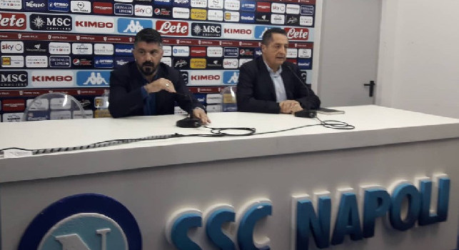 Gattuso in conferenza: Quando dico che la squadra è pensante non offendo Ancelotti: facciamo il bene del Napoli, facciamo le persone serie. Mertens? Torna stasera e su Koulibaly... [VIDEO]