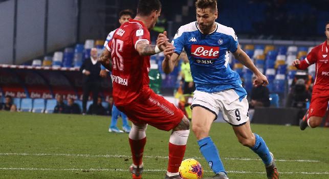 Il commento della SSC Napoli: Insigne freddo, implacabile, sicuro e preciso! Ci voleva una scarica di entusiasmo per Ospina