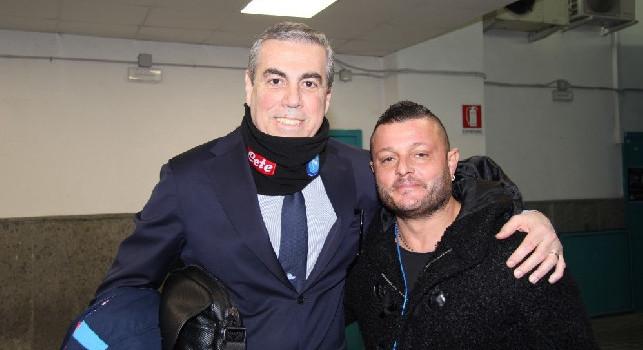 Napoli-Perugia, presente al San Paolo anche il doppio ex Luca Lacrimini! [FOTO]