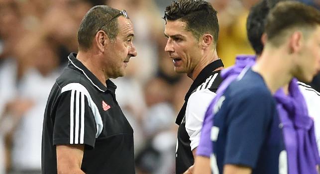 Juventus, Sarri: Cristiano Ronaldo? Pensare che c'è chi ha più palloni d'oro di lui me le fa girare... [VIDEO]
