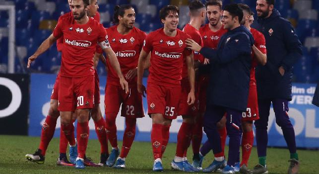 Napoli-Fiorentina 0-1, Cutrone gela il San Paolo: l'arbitro annulla il gol per fuorigioco