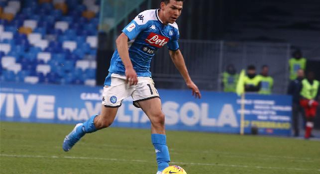 Napoli-Fiorentina 0-1, Gattuso lancia Lozano e passa al 4-2-3-1: esce Zielinski