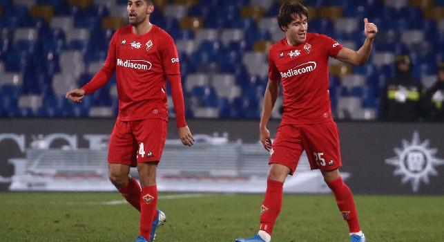 La Fiorentina si prepara all'addio di Chiesa: nel mirino due calciatori seguiti dal Napoli per sostituirlo