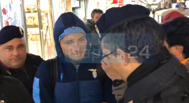 Lazio arrivata a Napoli, che entusiasmo alla stazione! Immobile preso d'assalto dai tifosi, che ressa per un selfie! [FOTO & VIDEO CN24]