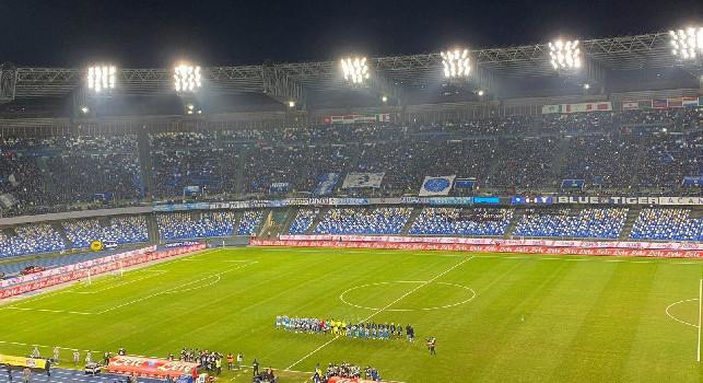 Coppa Italia Napoli-Inter, dalle ore 12 biglietti in vendita solo per gli abbonati. Speciale promo per chi acquisterà anche il biglietto per il Torino: prezzi e dettagli