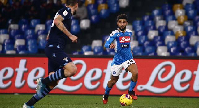 Napoli-Lazio 1-0, le pagelle di Sportmediaset: Insigne trascina, Hysaj manda in tilt Gattuso