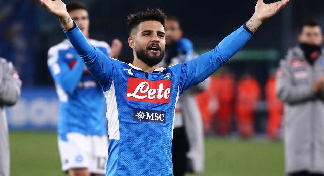 UEFA su Twitter: Il Napoli risorge con Insigne, un gol del capitano elimina la Lazio
