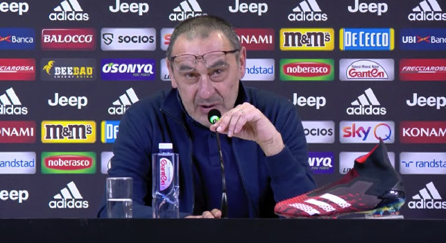 Sarri in conferenza: A Napoli sarà tremendamente difficile! Gara particolare per me, è stato un rapporto forte soprattutto con la città