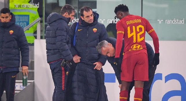 ULTIM'ORA - Roma, rischio sconfitta a tavolino contro l'Hellas Verona: errore nella lista, inserito Diawara negli Under 22